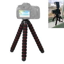 Akcesoria do aparatów elastyczna gąbka Octopus statyw do Canon/Nikon/Sony Go pro 7 6 5H9R Sj9 Sj8 pro DJI OSMO Action telefon komórkowy