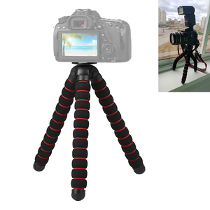 Image 1 - מצלמה אביזרי גמיש ספוג תמנון חצובה עבור Canon/ניקון/סוני ללכת פרו 7 6 5H9R Sj9 Sj8 פרו DJI אוסמו פעולה נייד טלפון
