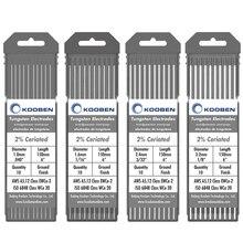 WC20 Tungsten Electrodes 1.0 1.6 2.4 3.2mm Grey Tig Welding Tungsten Electrodes