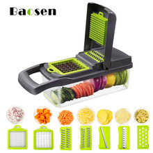 Multifunctional Vegetable Slicer Potato Strips Cutter Carrot and Onion Slicer Tomato diced Cutter Chopper Kitchen Accessories discount new technology carrot potato onion lemon and orange tomato slicer tomato cutter tomato cutting machine