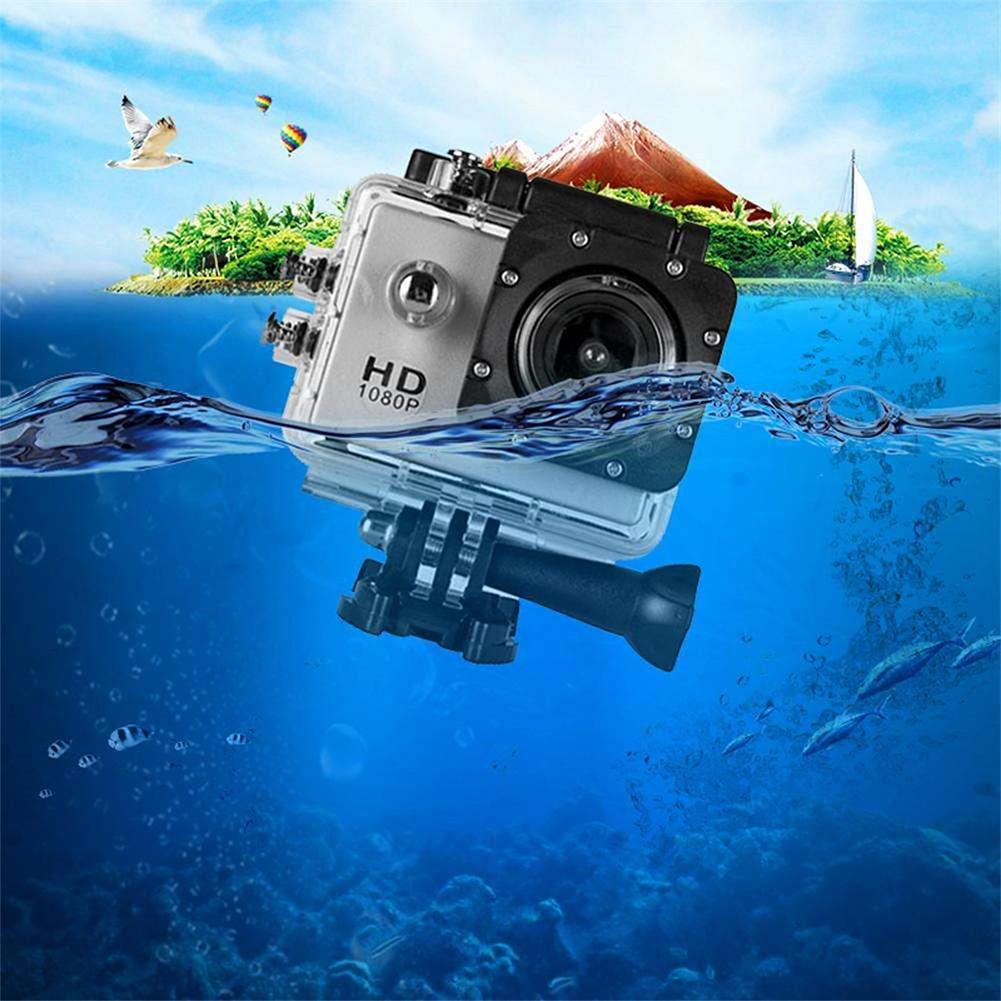 Full HD 1080P Водонепроницаемая камера 2,0 дюймов видеокамера Спортивная DV Go Автомобильная камера Pro мини Спортивная DV видеокамера с Cam аксессуары