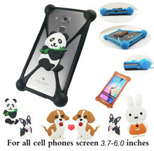 Luxury Cartoon Phone Cover For Bluboo D1 D2 D6 R1 S8 Lite soft silicone covers(China)