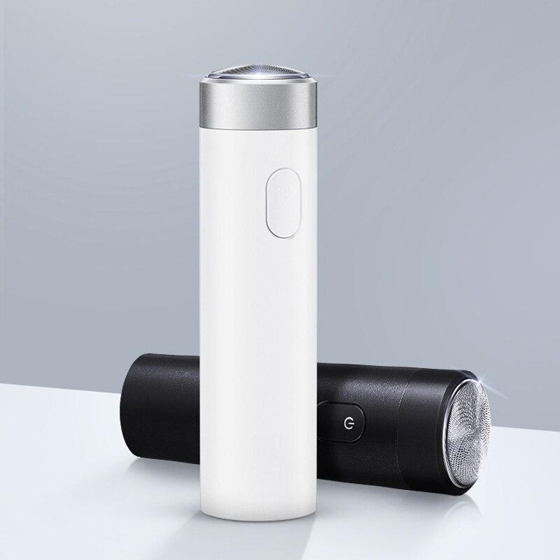 Rasoir rasoir USB Rechargeable sec humide Machine à raser tondeuse à barbe pour hommes IPX7 lavable à trois lames électrique