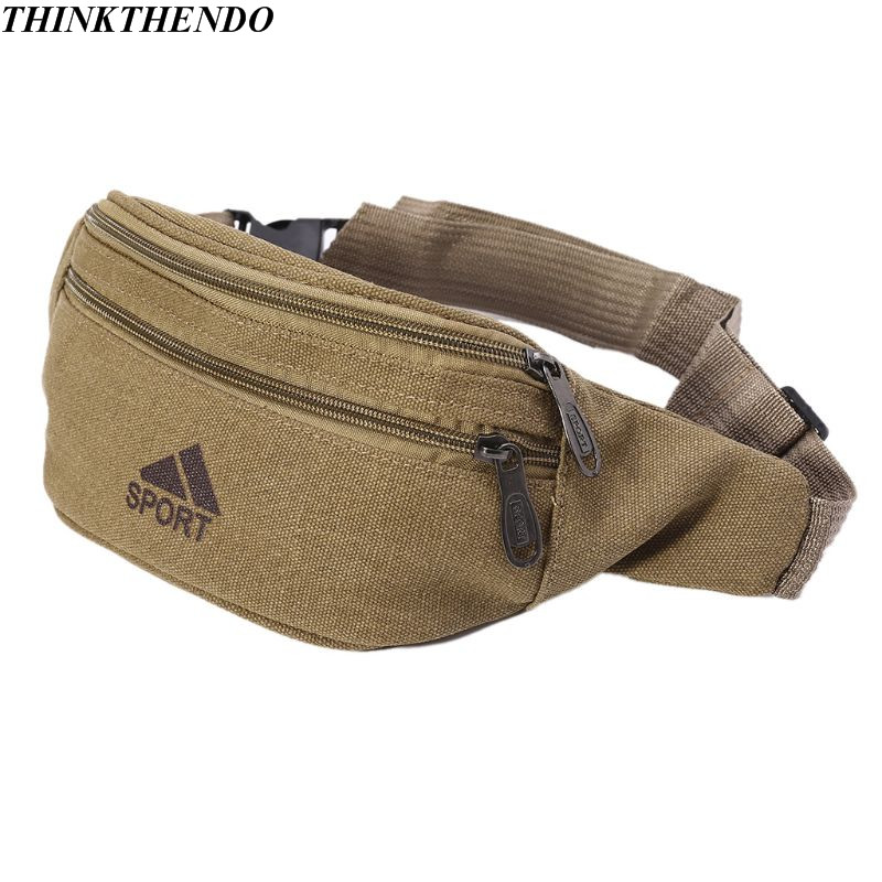 Durable Men Fanny Waist Pack Belt Hip Bum Military Tactical Running Bag Pouch