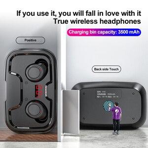 Image 3 - McGeSin 2020 Auriculares inalámbricos Bluetooth nuevos auriculares TWS auriculares estéreo 9D auriculares de música IPX7 impermeables con 3500mAh for iphone Xiaomi Huawei Samsung