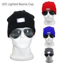 2020 Новый светодиодный световой Шапка бини шерстяные лампа