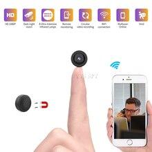 Wifi Mini Macchina Fotografica 1080P HD Video Gizli Kamera CCTV IP Cam Visione Notturna A Distanza del Sensore di Movimento del Corpo Magnetico Microcamera videocamera