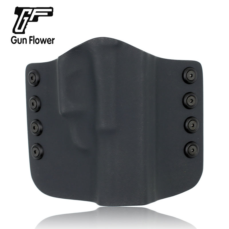 Gunflower Tactical Outside The Waistband Glock 17 Pistol Concealment OWB Kydex Gun Holster