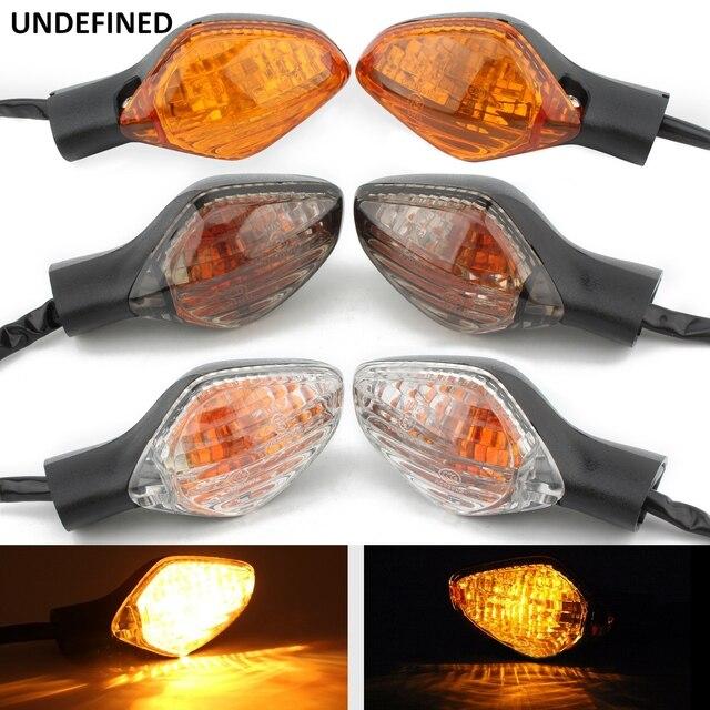 Motorrad Blinker Anzeige Licht Vorne Hinten Blinker Bernstein Lampe Für Honda CBR650F CBR500R CBR 500R 650F CB 500F 500X 650F