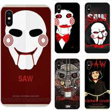 Horror Saw Mask Man Terrible For Galaxy J1 J2 J3 J330 J4 J5 J6 J7 J730 J8 2015 2016 2017 2018 mini Pro High Quality Soft Back(China)