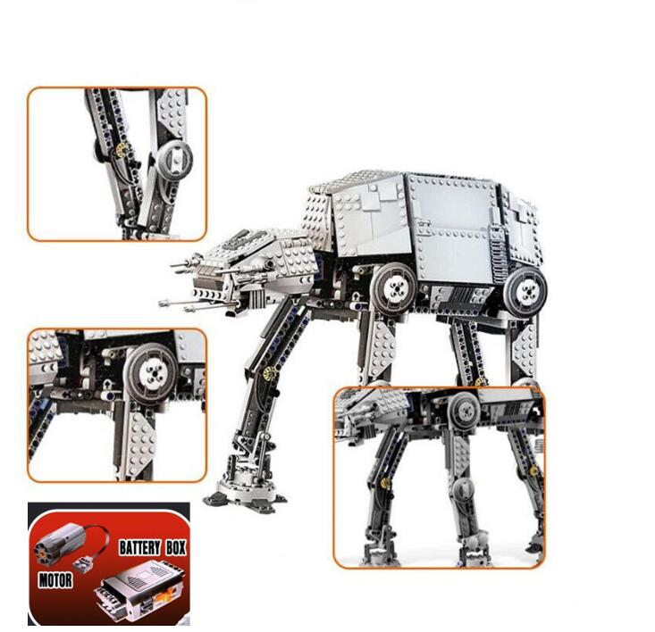 Star Toy Wars The Force Awakens ATAT Walker Set Building Blocks Bricks Action Compatible With Lepines New Birthday Kid Toys