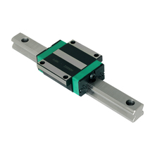 цена на free shipping 1pcs HGR25 linear guide rail 100 200 300 400 500 700mm+1pc linear block carriage HGH25 or flang HGW25 CNC parts