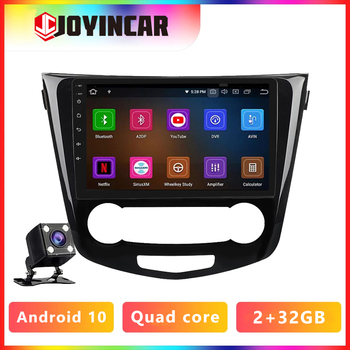 JOYINCAR Android 9.1 Quad Core Car Radio Auto GPS Navi Multimedia Player For 2013 2014 2015 2016 2017 Nissan QashQai X-Trail image