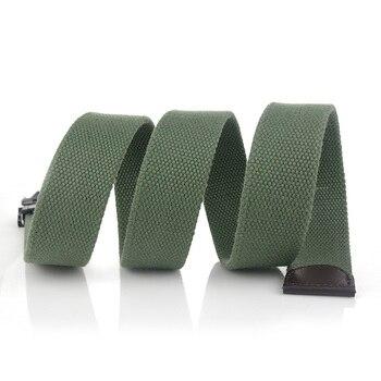 Hot Tactical Canvas Belt Body Men Women Thicken 4MM Military Width 3.8CM Designers High Quality 110-140-160cm No Buckle 4