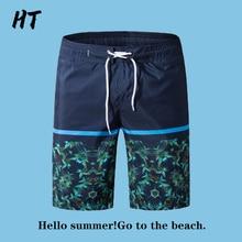 Board Shorts Men Clothing Men Beachwear Printed Quick-Dry Summer Mens Casual New