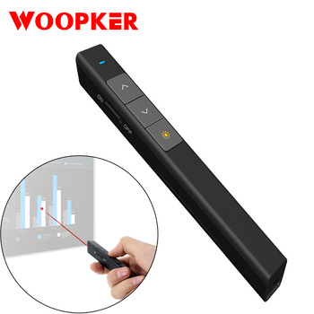 Wireless Remote Control Laser Presenter Pointer RF 2.4G for Power Point PPT Projector Presentation Multifunction Air Mouse
