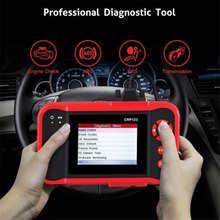 Launch OBDⅡ Scanner Auto Tool Car Fault Scanner Diagnostic Automove Red