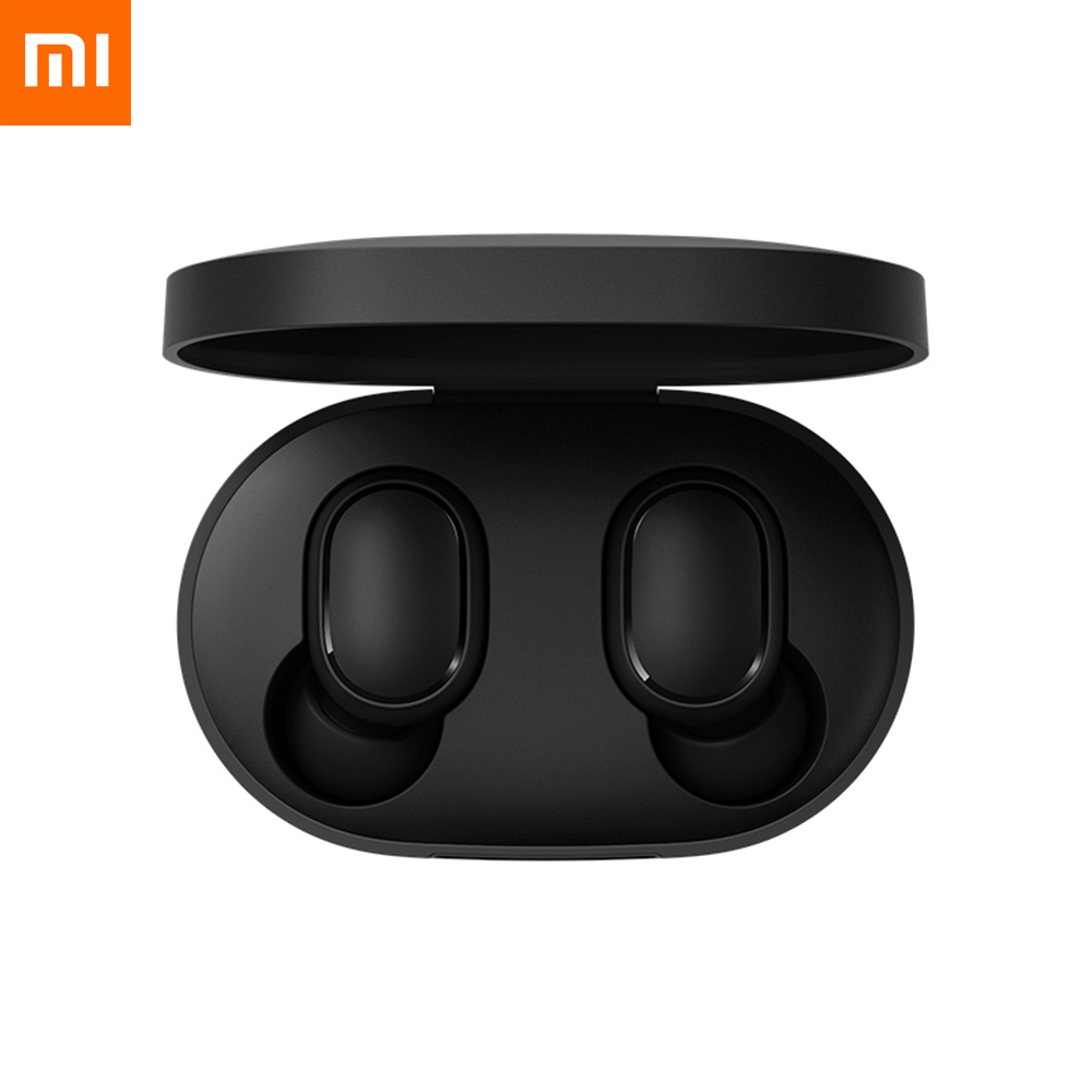 Xiaomi Redmi Airdots TWS Bluetooth 5.0 Earphone Stereo Wireless Active Noise Cancellation With Mic for honor xiaomi image