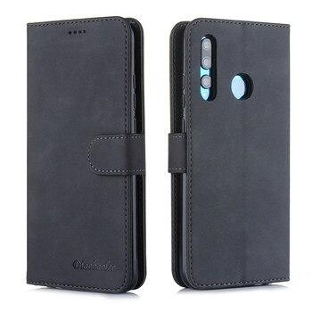 Magnético Funda de cuero para Huawei Mate30 P20 P30 Pro Lite P Smart Plus 2019 Honor 10 lite 9X 20X 5G cartera Flip cubierta Etui