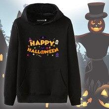 happy halloween sweatshirt womens vintage print pullovers cotton gothic hoodies harajuku oversized hoodie korean