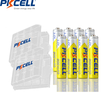 8Pcs*PKCELL NIMH AAA Battery 3A AAA 1 2V Ni-MH Rechargeable Batteries 600mAh Over 1000times Cycles AAA batteries for camera toys cheap aaa rechargeable batteries Batteries Only Bundle 1 8pcs and battery box Guangdong China (Mainland) aaa nimh rechargeable battery