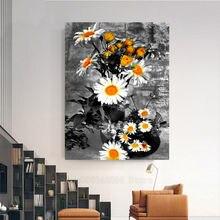 5d алмазная вышивка ромашки цветы diy Алмазная картина полная