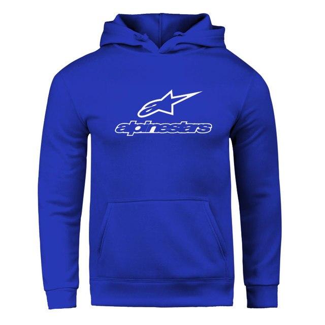 Fall / Winter 2020 Alpine Star Hoodies Men's Fleece Jacket Alpine Star Biker Sweatshirt Men's Pullover Hip Hop Casual Hoodie 3