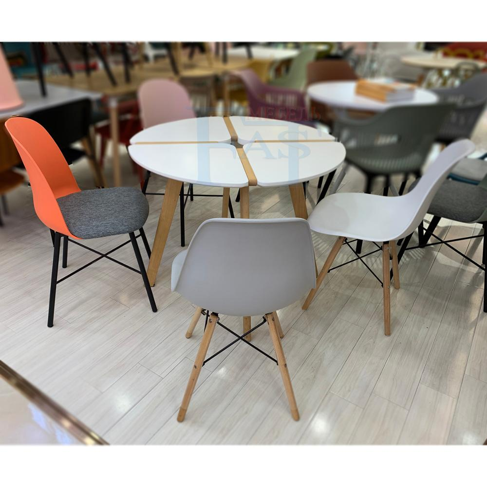 Home Dining Table White Paint Table On Beech Legs New Design Kitchen Table Round Table Modern Table