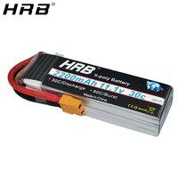 Mejor HRB 3S Lipo batería 11,1 V 2200mah 30C T XT60 Deans XT90 EC5 hembra para aviones axiales SCX10 Dron de carrera FPV coche barco RC partes
