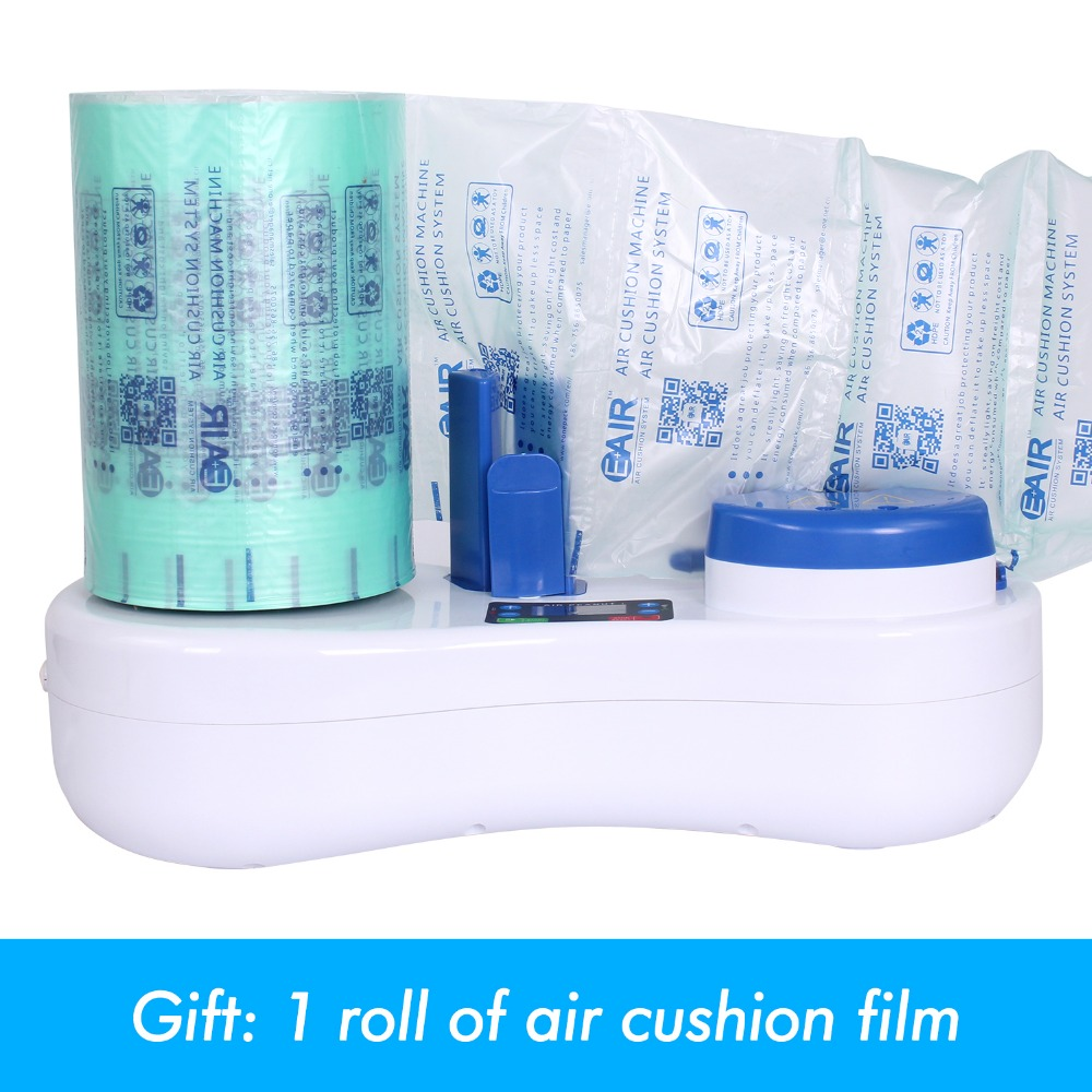 EA150B воздушная посылка машина для наполнения подушек воздушная подушка машина для наполнения пузырьков упаковочная машина Настольный легкий небольшой размер