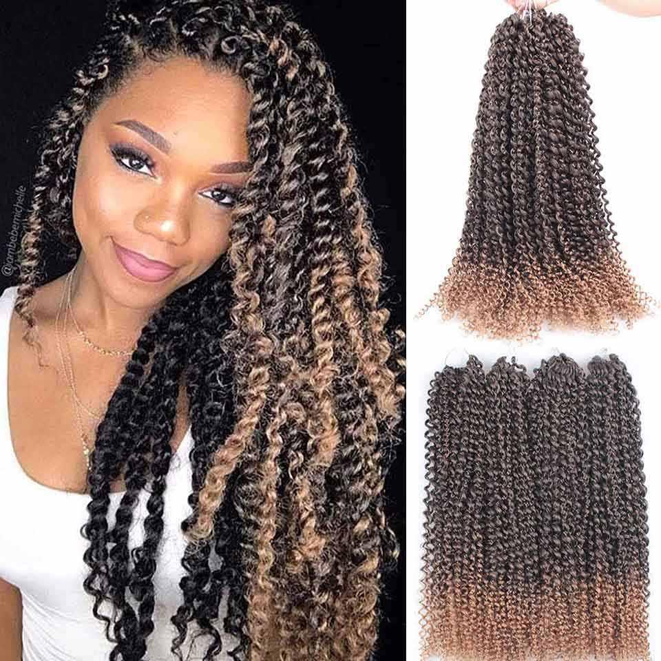 Xtrend Passion Twist Hair szydełkowe warkocze syntetyczne warkocze Crotchet wiosenne włosy plecione na puszyste