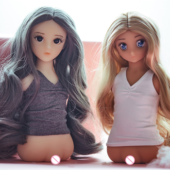 Silicone Sex Doll 25cm Love Doll Half Body Torso Doll Sex Realistic Vagina, Small Breasts Realistic Silicone Sex Toy