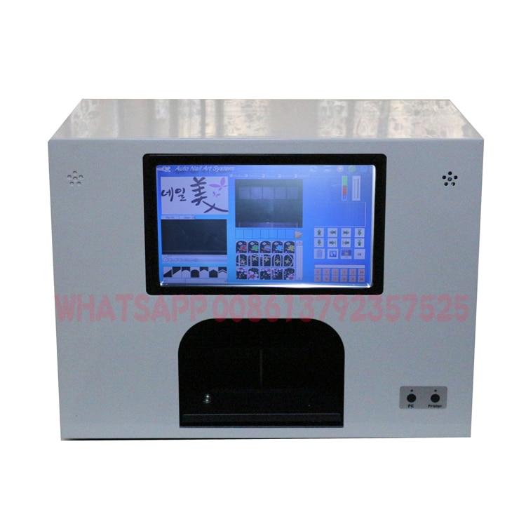 Impresora digital de uñas y flores 5 uñas o 3 flores imprimiendo a - Arte de uñas