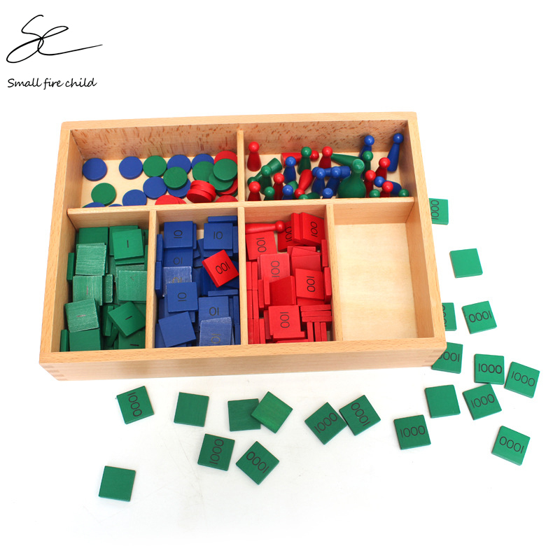 NEW Baby Toy Montessori Stamp Game Math For Early Childhood Education Preschool Training Kids Toys