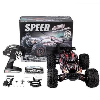 RC Car X-03 2.4G 1/10 4WD Brushless High Speed 60KM/H Big Foot Vehicle Models Truck Off-Road Vehicle Buggy RC Electronic Toy RTR цена 2017