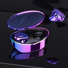 цена на TWS S1 True Wireless Earbuds Bluetooth Earphones Waterproof  Headset Noise Reduction Sports Portable Earphones With Charging Box