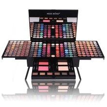180 Kleuren Professionele Oogschaduw Palet Case Make Up Set Met Borstel Spiegel Krimpen Oogschaduw Cosmetische Make Up Case