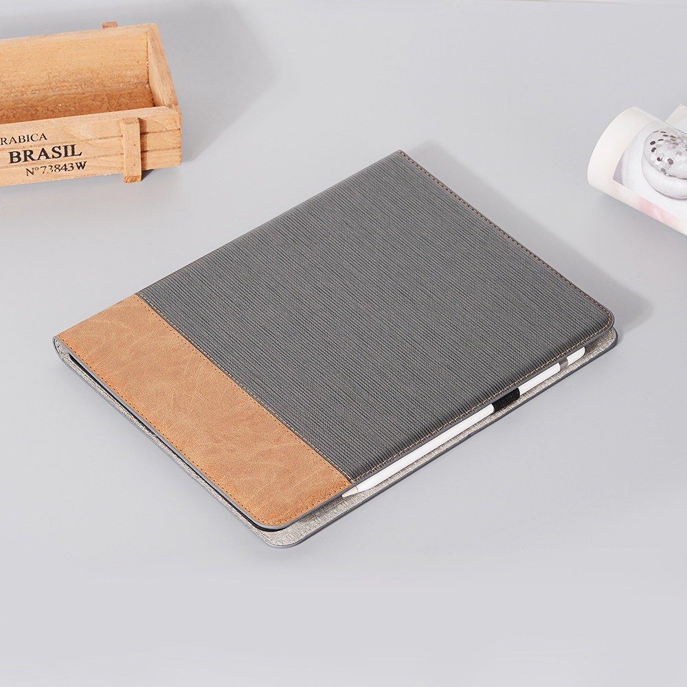 2020 Case 12 9 For Brown For iPad PU 2020 Pro Tablet Business iPad Cover Pro Series Back