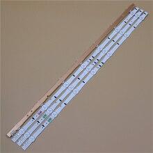 645mm TV LED Light Bars For Samsung UE32J5600AW UE32J5605AK UE32J5670SU UE32J5672SU Backlight Strip Kit 7 LED Lamps Lens 4 Bands