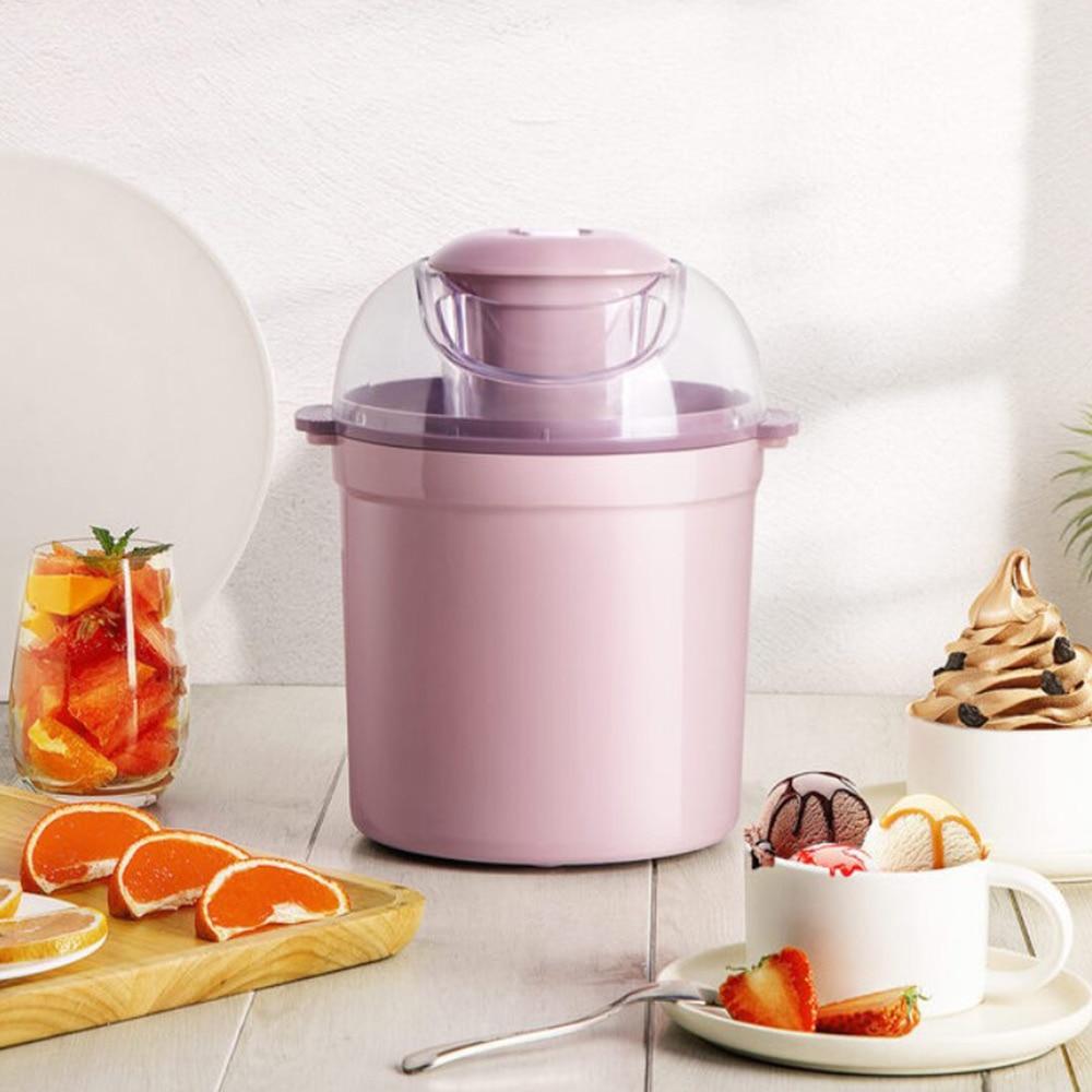 Yogurt Ice Cream Machine Home Automatic Production Of Fruit Mini Small Ice Cream Machine