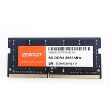 ZENFAST memoria Ram DDR4 8GB 4GB 16GB 32GB 2666mhz sodimm cuaderno de alto rendimiento de la memoria del ordenador portátil intel y AMD
