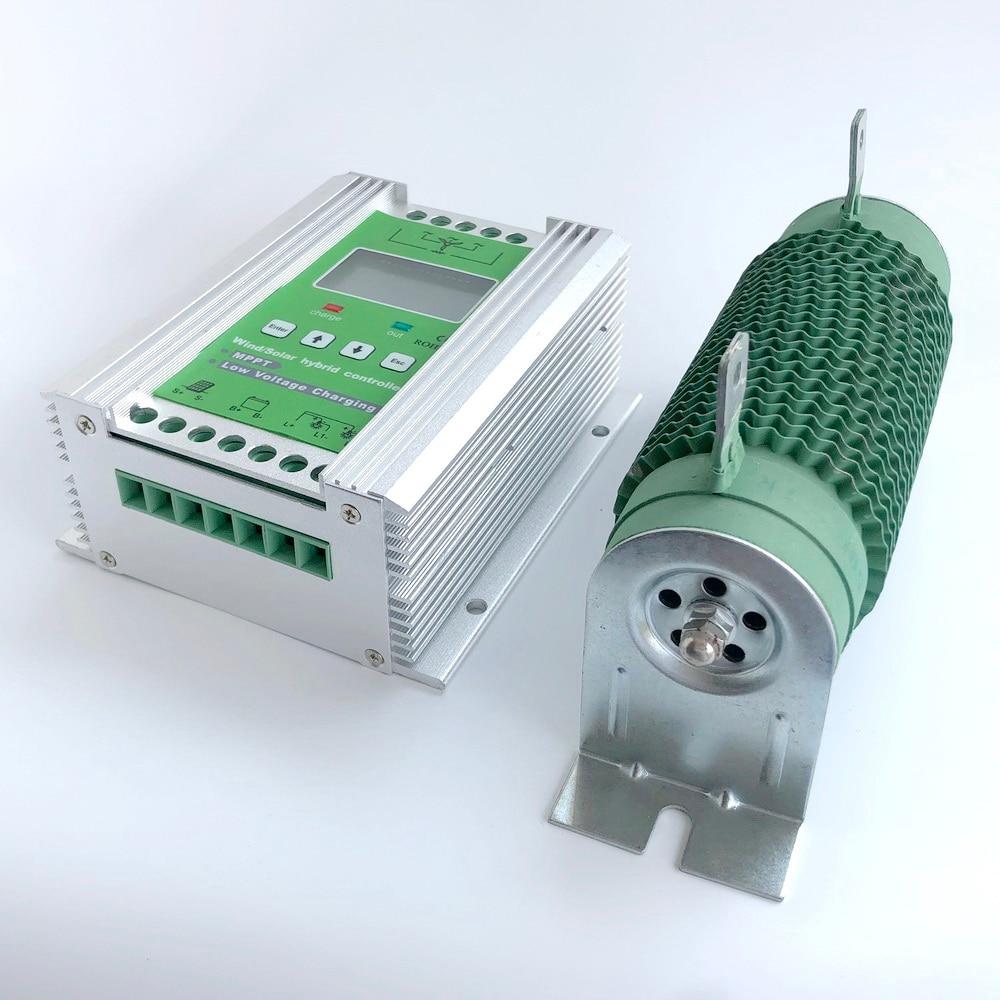 NEUE 14000W Boost MPPT Wind Solar Hybrid Controller 12V 24V für 800W + 600W Solar mit Anti-lade und Batterie Reverse-Schutz