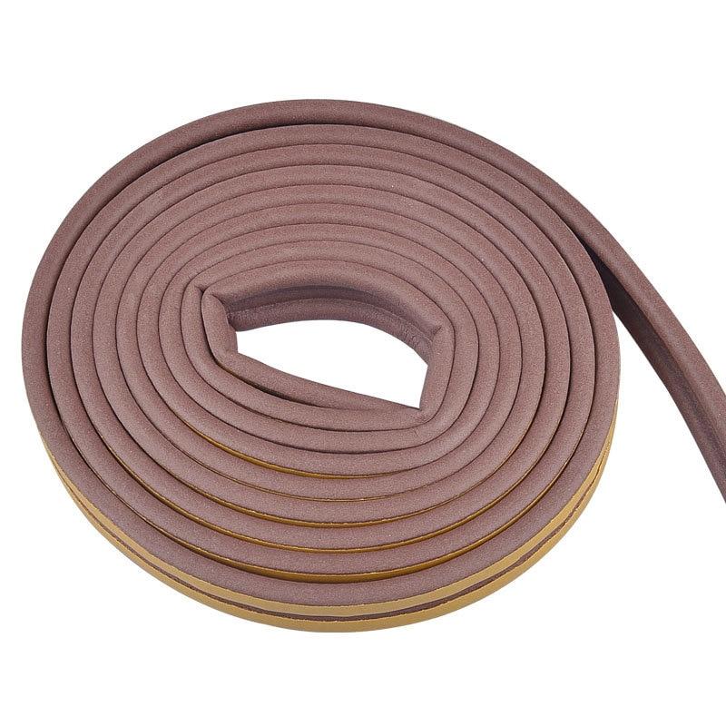 5M Self Adhesive D Type Doors & Windows Foam Seal Strip Soundproofing Collision Avoidance Rubber Seals SP99