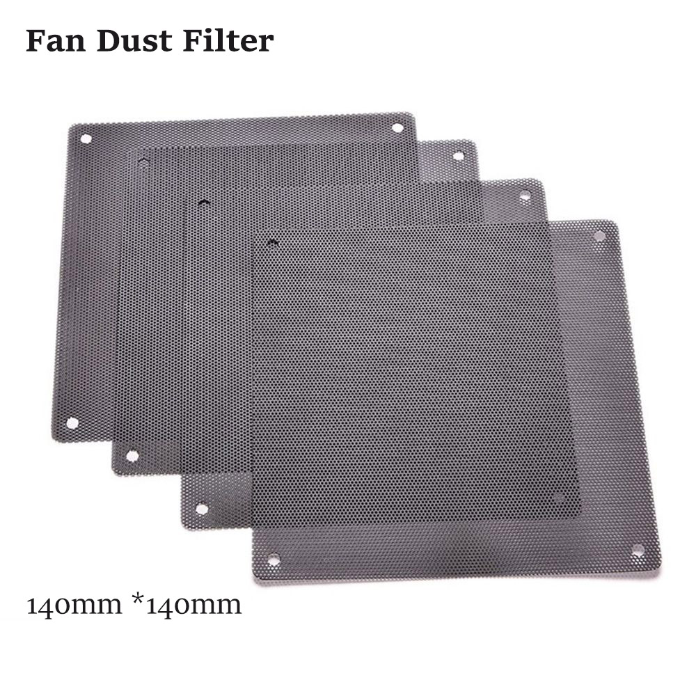 Fan DUST-FILTER Mesh 2pcs/Lot Case Chassis Computer 140mm Cuttable And Black PVC Hot-Sale title=