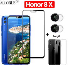 6.5 3-in-1 3D Tempered Glass For Huawei Honor 8X Screen Protector honor 8 x Original Case + Camera glass 8x
