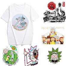 Showtly Rick and Morty t shirt Men/Women T