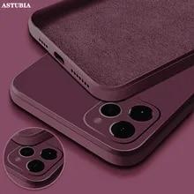 Silicone-Case Liquid Se2-Cover Square Official Case For Full-Protector Mini iPhone 11