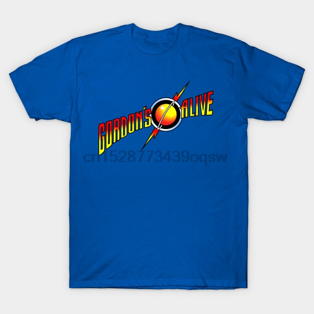 Men tshirt Short sleeve Gordon's alive Flash Gordon T Shirt tee tops Women t-shirt(China)