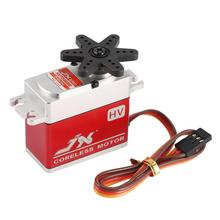 JX PDI-HV7246MG 46KG 6-8.4V High Voltage Metal Gear Digital Coreless Standard Servo for RC Car 550-700 Airplane Helicopter tarot rc original kst ds725mg standard hv metal case metal gear digital servo for 550 rc helicopter airplane