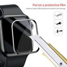Защитная пленка для iwatch 4/5 40/44 мм apple watch 3/2/1 38/42